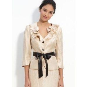 Adrianna Papell Evening Essentials Ruffle Jacket